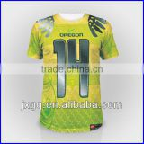 Fashion 100% polyester wholesale cutom design sublimation printing authentic sports jersey new model