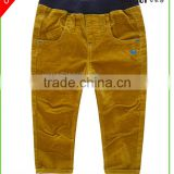 Baby Boy's autumn &winter apparel corduroy pants solid color Anti-Pilling pants for boy