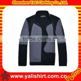 Custom 2014 classic color combination waterproof polyester fitness men sport coach jacket