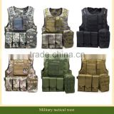 Outdoort Hunting Accessories Camouflage Vest Amphibious Multi Pockets Military Tactical vest