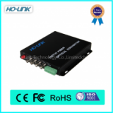 Ho-Link 4 Channel Transceiver & Receiver Video over Fiber, BNC to Fiber Ethernet Converter ,HD-TVI Camera