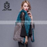 New Fashion Warmer Custom Women Winter Beautiful Genuine Fur Vest