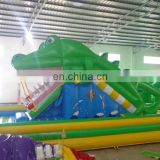 best quality cheap inflatable crocodile slide for sale