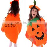 WD-1530 children size Promotional halloween pumpkin costume with custom imprint for sales promotion