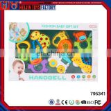 hot 7PCS rattle and teether set baby educational toys for kids