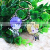 Arts and crafts custom printed acrylic charms keychain