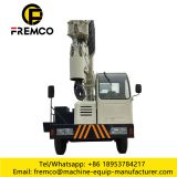 16tons Truck Mounted Crane for Crane truck rental service selfmade chassis crane