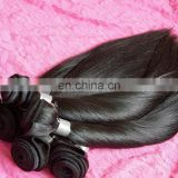 real Peru Hair bottom Full Cuticle soft silk straight 100% Virgin Peruvian human hair bulk