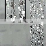 Bubble Long Silver hanging chandelier for wedding & Event decoration