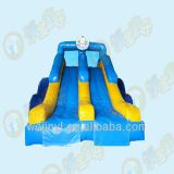 2018 hot sale inflatable games water slide for kids and adults