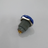 Plastic 0 degree socket 6pin with blue nuts