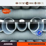 DWC HDPE pipe/black corrugated drainage pipe/corrugated hdpe culvert pipe Sn4 300mm