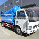 DFAC sewage suction truck with cleaning function with good price for sale 008615826750255 (Whatsapp)