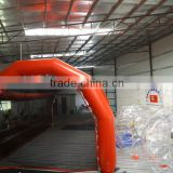 7.5meter by 4.8meter Red color 100% air sealed Durable PVC tarpaulin baseball Inflatable Batting Cages sports games