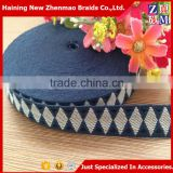 Whosale cheap custom woven jacquard polyester ribbon