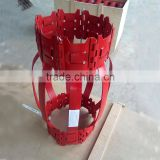 High quality API spec waved single and double bow type casing centralizer for oilfield usage