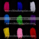 Wholesale cheap high quality artificial ostrich feathers trim 22-24inch