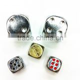6 sided metal dice