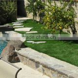 real touch U shape artificial lawn synthetic grass turf for garden use