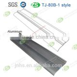 Stain-resistant durable waterproof aluminum decorative baseboard