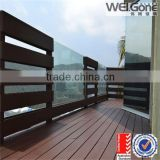 factory clear balcony glass railing designs                                                                         Quality Choice