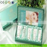 different types creative paper cosmetics giftc set packaging box