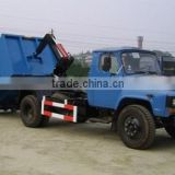 140 Long Cab 4*2 6m3 Truck mounted Hook Lift Garbage Box Truck