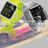 New product 0.3mm 3H PET material clear anti shock screen protector for apple smart watch