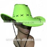 Hot sale funny cowboy hat with fashion design HT2098