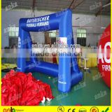 2015 Hot sale customized inflatable mini soccer goal with net