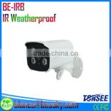 cctv security equipment with 4 pieces IR-LED 35m Ir Distanca and Built-in Bracket security weatherproof bullet camera