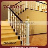 high quality prefab wrought iron stair railings