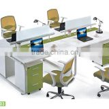 Aluminum partition office cubicle workstation with MDF board