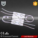 Top-encapsulation Injection smd 5050 with lens 2 chips/160degree 0.48W led module