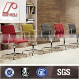 EA108 Modern fabric ribbed replica office conference chair with glides