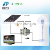 40W 18V Solar green lighting systems; Solar home lighting kit, Portable and low cost solar lighting kit