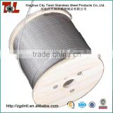 316 7x7 6mm Stainless Steel Wire Rope with Length 1000m 1470N/mm2