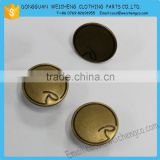 2015 new design fashion blue jeans buttons