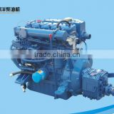 High speed marine diesel engine set with gearbox for total enclosed lifeboat N485J-3 39hp