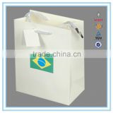 Alibaba China manufacturer customized cheap recycle paper bag machine made production paper bag for shopaping