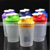 Hot Sale BPA Free Gym Plastic Blank Protein Shaker Bottle