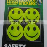 Fashional PVC flashing Reflective adhesive Stickers                                                                         Quality Choice
