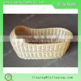 Natural Wicker Baby's Breath Bassinet/crib wicker moses baby basket