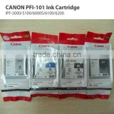 PF-5000/5100/6000S/6100/6200 Format Plotter Printer Use Original CANON PFI-101 Ink Cartridge I