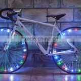 DIHAO 2016 new 20 LED Colorful Cycling Bicycle Bike Wire Tyre Wheel Spoke Light String Wire 2.2m