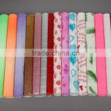 Hot sale Colorfast&Flameproof Crepe Paper in Sheet/Roll                                                                         Quality Choice
