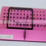 high quality acryl perpetual calender