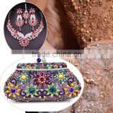 Latest design wholesale clutch purses in delhi/ladies dressing bags/designer handbags for party