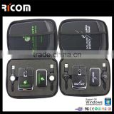 Ricom leather gift set,desk set leather,office desk leather stationery set--Shenzhen Ricom