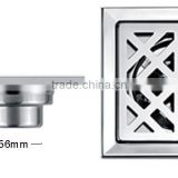 Sanitary ware shinning deodorize chinese shower room casting anti-odor stainless steel floor drain grate